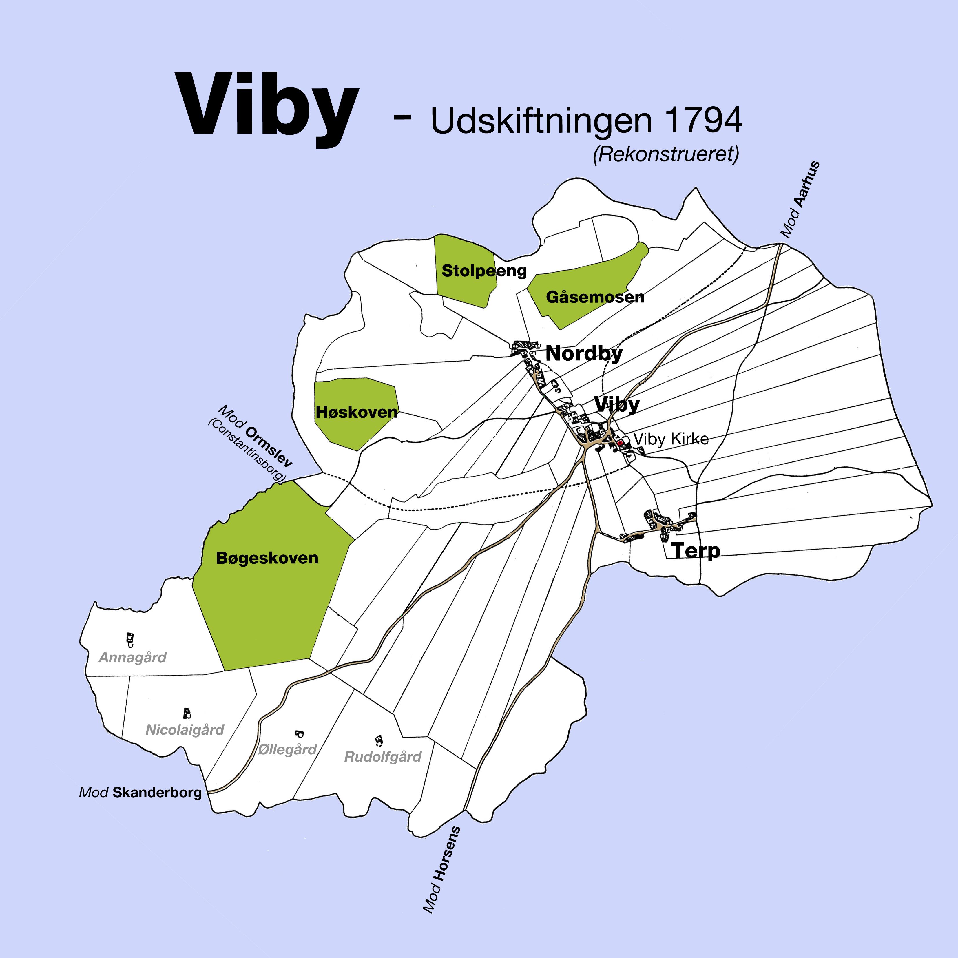 Vibys Originale Kortmagasin Viby Lokalhistorie