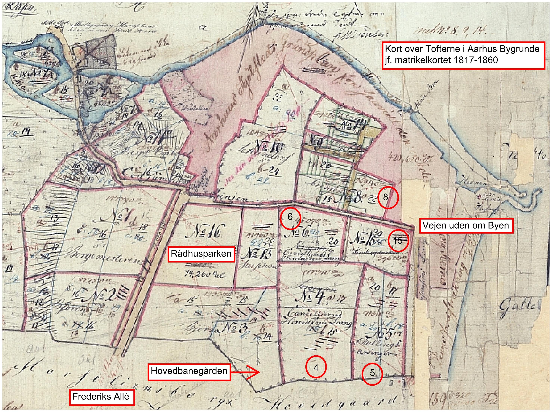 23 Maj 1807 Udstykning Af Dele Af Marselisborg Gods Viby