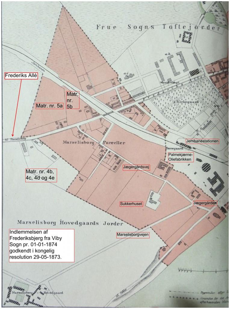 Frederiksbjerg; Aarhus; Trap Danmark; 2. udgave 1879
