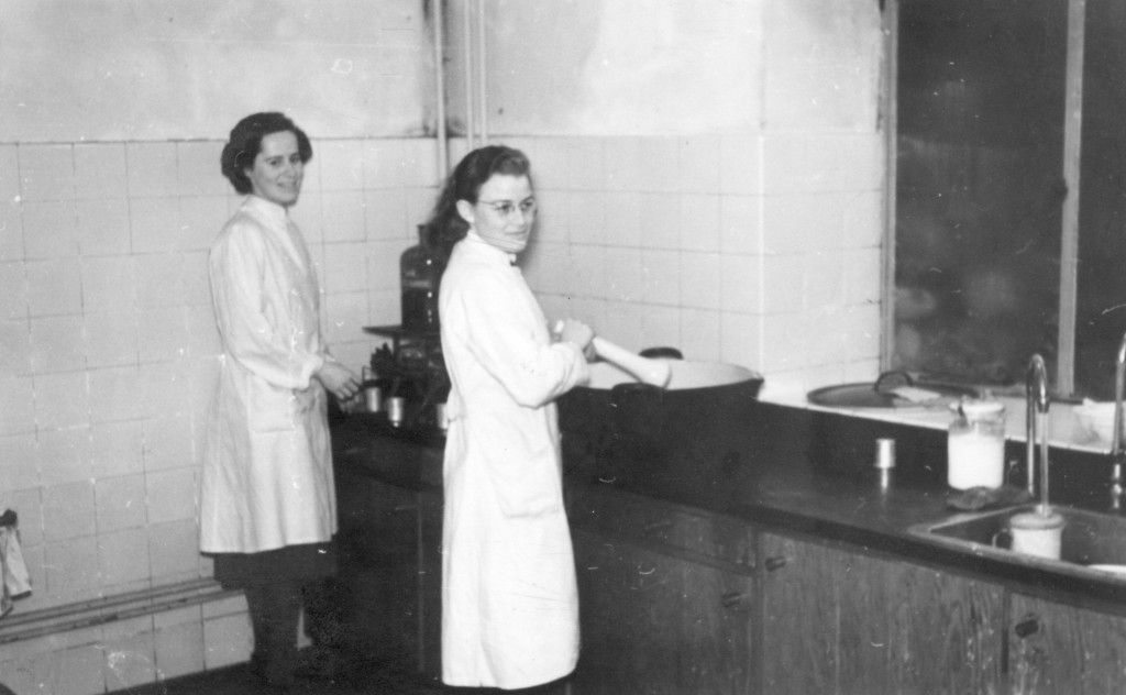 Fabrikation af medicin. Inger Toksvær og Inger Lind