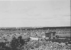 Udsigt fra Uraniavej ca.1925