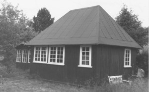 Havehus af træ på Libravej. foto 1991